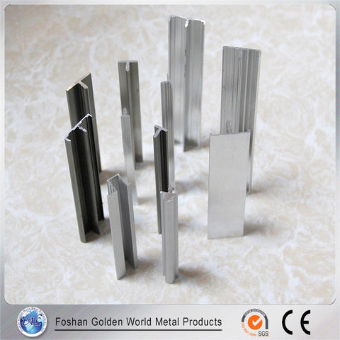 sliding wardrobe door all types of 6063 anodized dies aluminium extrusion on China WDMA