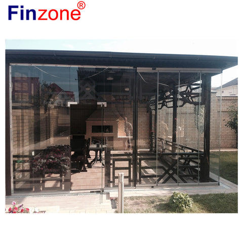 special aluminum interior frameless glass slide and turn window and door folding partition in penang on China WDMA
