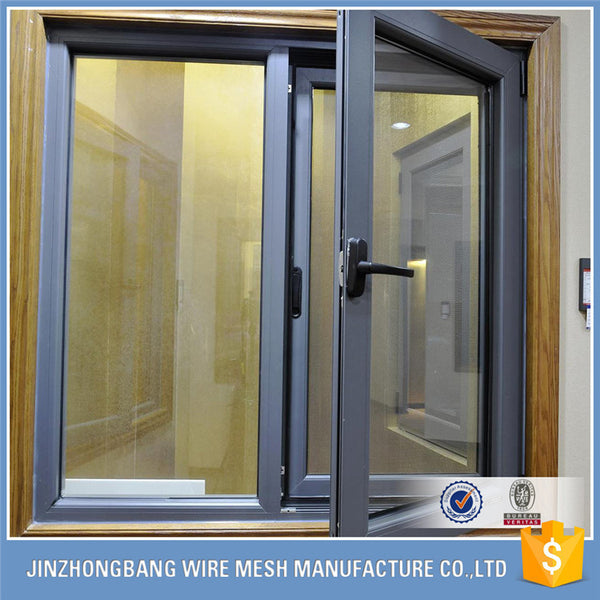 stainless steel bulletproof wire mesh / soundproof window screen on China WDMA
