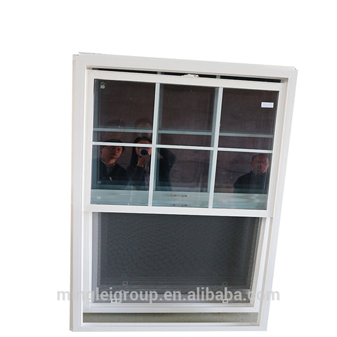 tempered glass vinyl clad upvc sliding pvc doors and windows built in blinds for church on China WDMA