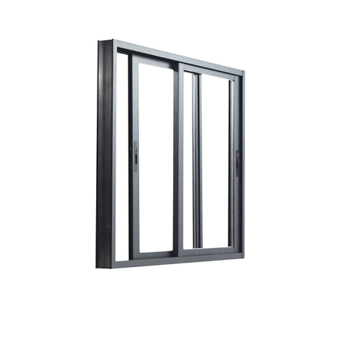 triple track standard sliding aluminum window sizes grill design on China WDMA
