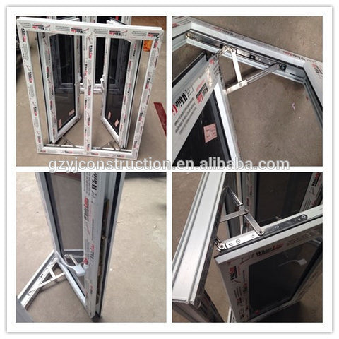 upvc french windows casement windows in foshan on China WDMA