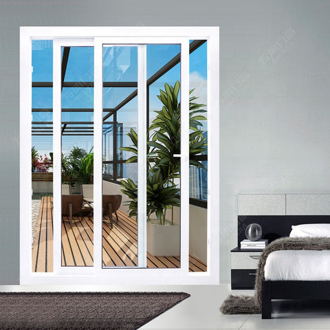 upvc/ pvc/ plastic french patio balcony double door prices for bedroom on China WDMA