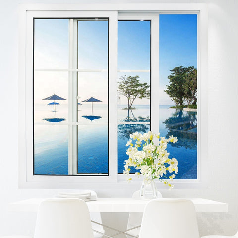 upvc/ pvc/ plastic glass sliding doors windows on China WDMA