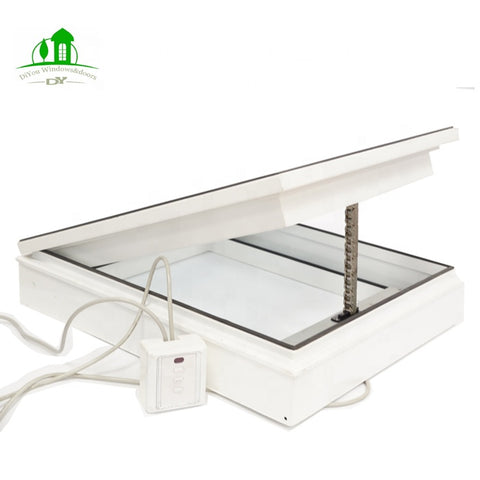 upvc skylight aluminium windows profile skylight roof windows glass skylight price on China WDMA