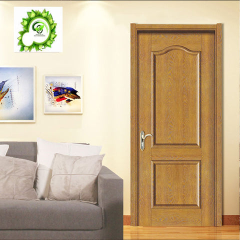 waterproof door leaf anti-moisture door leaf foam board inside wpc composite door skin on China WDMA