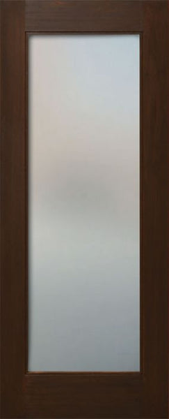 WDMA 24x80 Door (2ft by 6ft8in) Interior Mahogany 80in One Lite Square Sticking w/Reveal Single Door 1