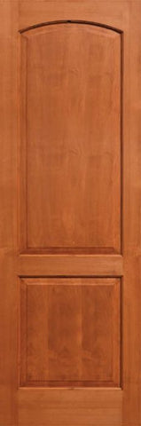WDMA 24x96 Door (2ft by 8ft) Interior Alder 96in Two Panel Soft Arch Ovalo Sticking Single Door 1