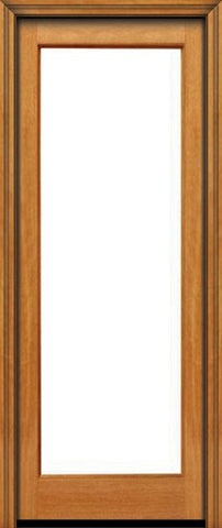 WDMA 24x96 Door (2ft by 8ft) French Mahogany 96in 1 lite Single Door IG Glass 1