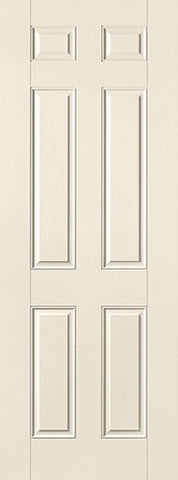 WDMA 30x96 Door (2ft6in by 8ft) Exterior Smooth 8ft 6 Panel Star Single Door 1