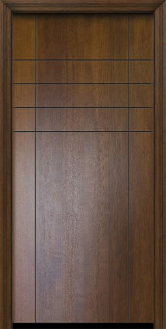 WDMA 32x80 Door (2ft8in by 6ft8in) Exterior Mahogany 80in Fleetwood Contemporary Door 2