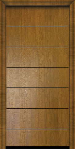 WDMA 32x80 Door (2ft8in by 6ft8in) Exterior Mahogany 80in Westwood Contemporary Door 2