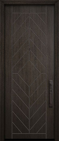 WDMA 32x96 Door (2ft8in by 8ft) Exterior Mahogany 96in Lynnwood Contemporary Door 2