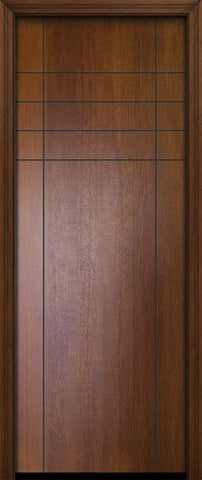 WDMA 32x96 Door (2ft8in by 8ft) Exterior Mahogany 96in Fleetwood Contemporary Door 2