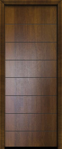 WDMA 32x96 Door (2ft8in by 8ft) Exterior Mahogany 96in Westwood Contemporary Door 2