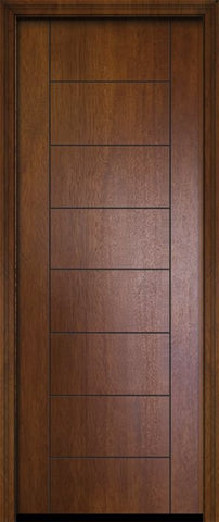 WDMA 32x96 Door (2ft8in by 8ft) Exterior Mahogany 96in Brentwood Contemporary Door 2