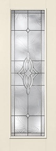 WDMA 34x96 Door (2ft10in by 8ft) Exterior Smooth Wellesley Full Lite 8ft Flush Star Single Door 1