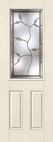 WDMA 34x96 Door (2ft10in by 8ft) Exterior Smooth Fiberglass Impact Door 8ft 1/2 Lite Avonlea 2