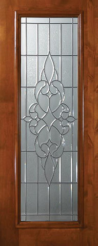 WDMA 36x80 Door (3ft by 6ft8in) Exterior Knotty Alder 36in x 80in Full Lite Courtlandt Alder Door 1