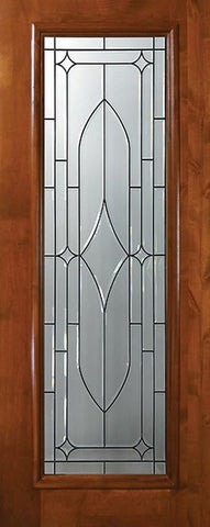 WDMA 36x80 Door (3ft by 6ft8in) Exterior Knotty Alder 36in x 80in Full Lite Bourbon Street Alder Door 1