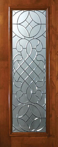 WDMA 36x80 Door (3ft by 6ft8in) Exterior Knotty Alder 36in x 80in Full Lite Savoy Alder Door 1
