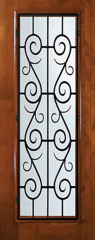 WDMA 36x80 Door (3ft by 6ft8in) Exterior Knotty Alder 36in x 80in Full Lite St. Charles Alder Door 1