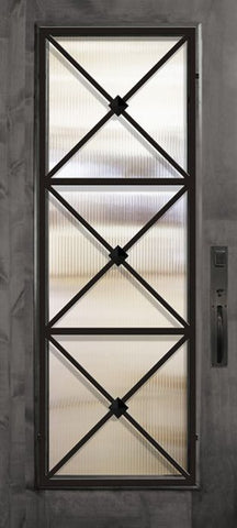 WDMA 36x80 Door (3ft by 6ft8in) Exterior Knotty Alder 36in x 80in Full Lite Republic Estancia Alder Door 1