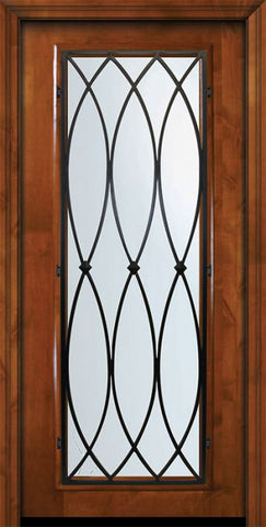WDMA 36x80 Door (3ft by 6ft8in) Exterior Knotty Alder 36in x 80in Full Lite La Salle Alder Door 2