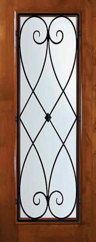 WDMA 36x80 Door (3ft by 6ft8in) Exterior Knotty Alder 36in x 80in Full Lite Charleston Alder Door 1