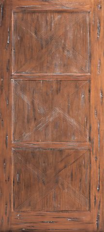 WDMA 36x84 Door (3ft by 7ft) Exterior Mahogany Japanese Style Single Door Hand Carved in Solid  1