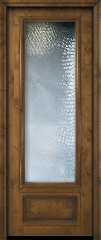 WDMA 36x96 Door (3ft by 8ft) Patio Knotty Alder 36in x 96in 3/4 Lite Estancia Alder Door 2