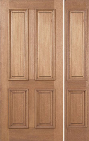 WDMA 48x80 Door (4ft by 6ft8in) Exterior Mahogany Martin Single Door/1side 1
