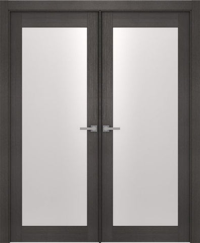 WDMA 48x80 Door (4ft by 6ft8in) Interior Barn Prefinished Aditi 700 Legna Nera Modern Double Door 1