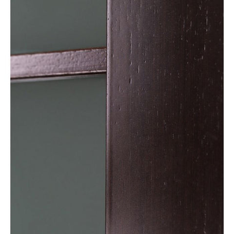 WDMA 48x80 Door (4ft by 6ft8in) Interior Barn Wenge Prefinished Maya 10 Lite Modern Double Door 7