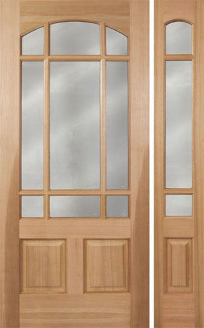 WDMA 48x80 Door (4ft by 6ft8in) Exterior Cherry Pradera Single Door/1side 1