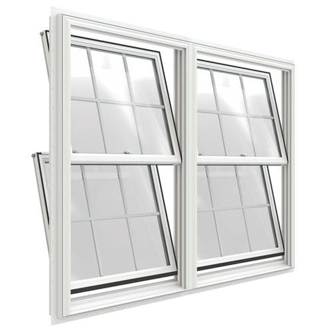 WDMA 72x60 (71.5 x 59.5 inch) Vinyl Double Hung Window