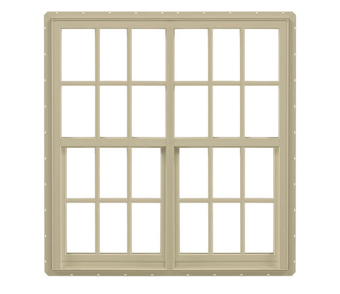 WDMA 72x60 (71.5 x 59.5 inch) Aluminum Double Hung Window