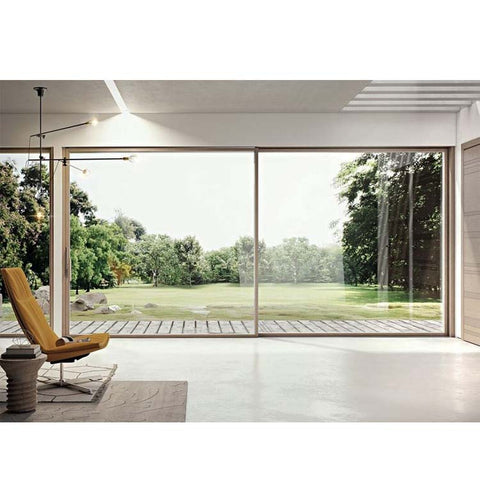 China WDMA Motorized Sliding Glass Door System