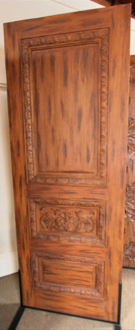 WDMA 96x120 Door (8ft by 10ft) Exterior Mahogany Tuscany Style Carved Double Door Solid  7