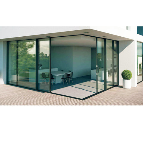 China WDMA Aluminium alloy sliding door Aluminum Sliding Doors