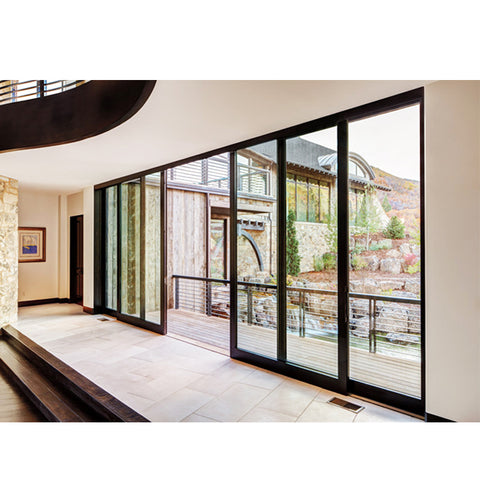 China WDMA sliding door aluminium Aluminum Folding Doors