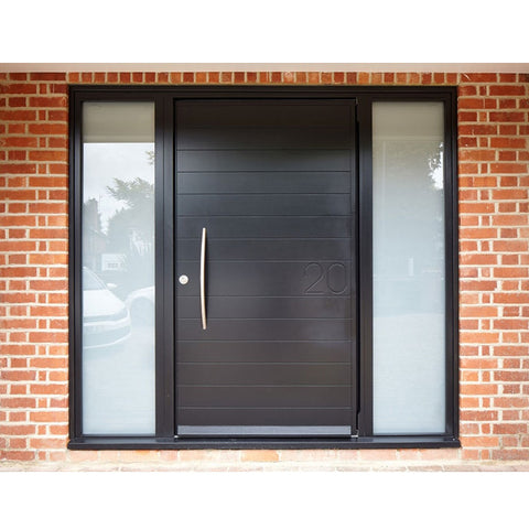 China WDMA Double Leaf Aluminium Door
