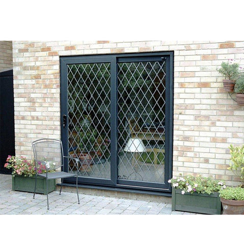 China WDMA 10 foot sliding glass door Aluminum Sliding Doors