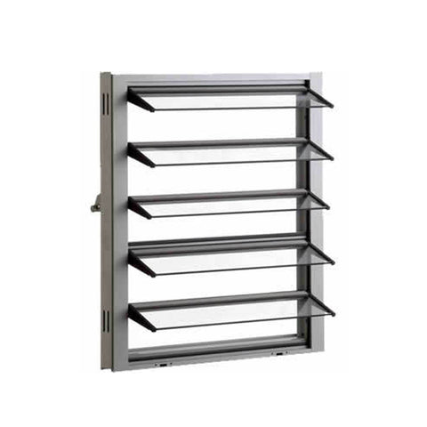 WDMA Aluminium Fixed Panel Glass Jalousie Single Pane Metal Window Louver Shutter In The Philippines Price
