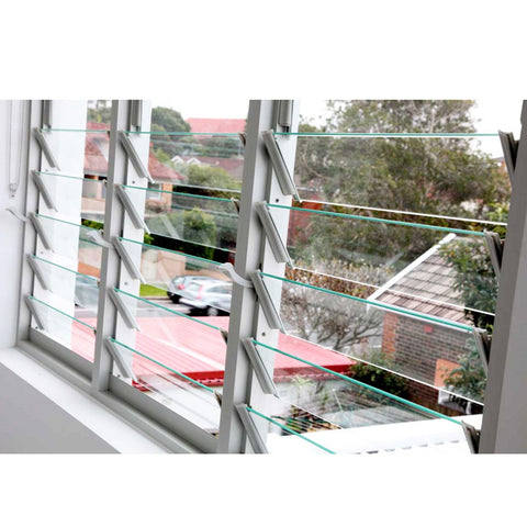China WDMA Aluminium Louver Window