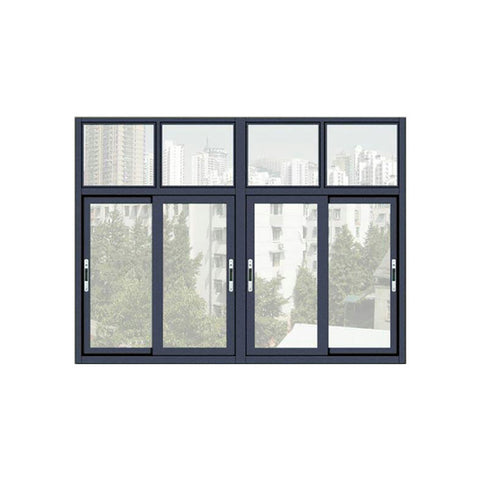 China WDMA Aluminium Sliding Window With Mosquito Net