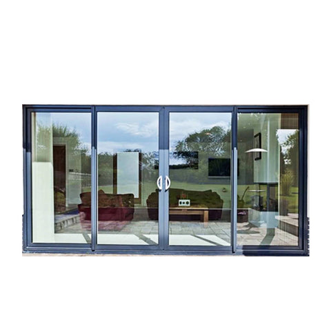 China WDMA aluminium doors windows Aluminum Folding Doors