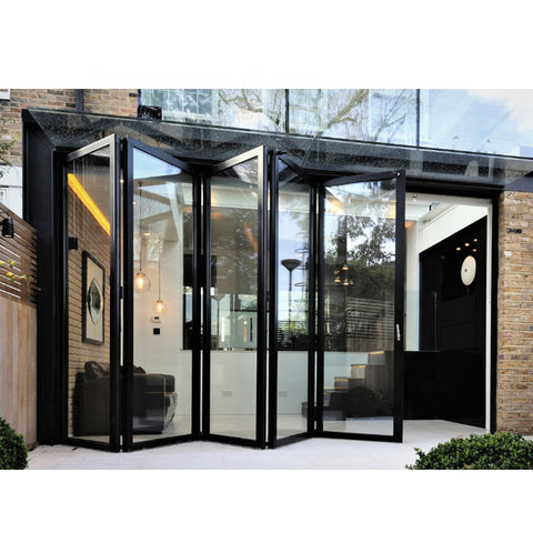 China WDMA Aluminium Folding Sliding Doors