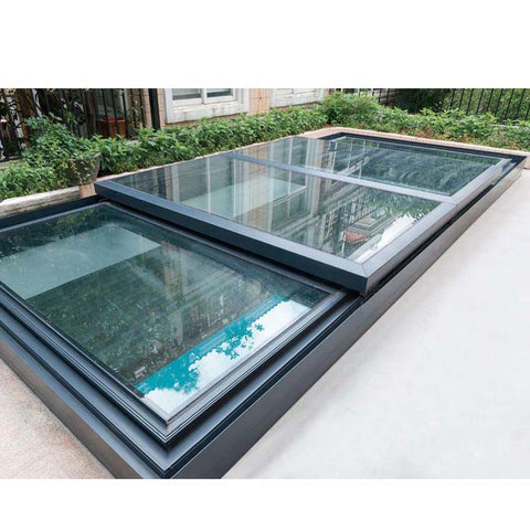 China WDMA roof window balcony Aluminum Skylight Window