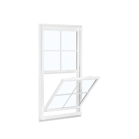 China WDMA aluminium sliding up and down window Aluminum double single hung Window